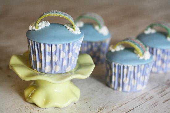 cupcakes rainbow