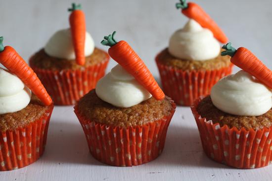 cupcake carrot carota