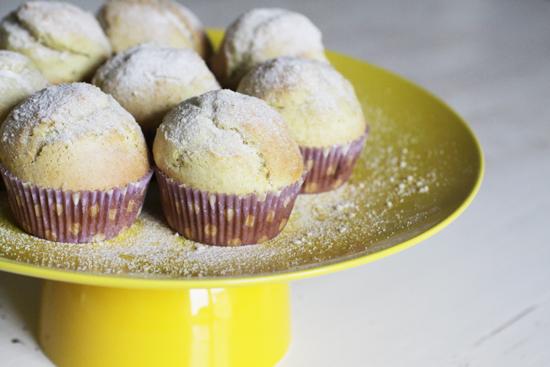 muffin limone lavanda lavender lemon