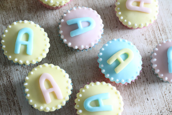 cupcakes sugar paste pastel