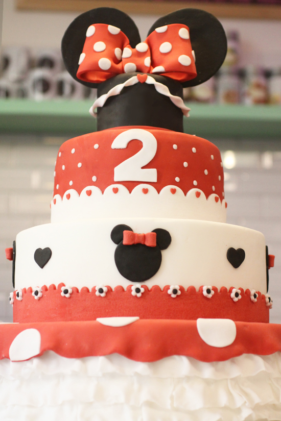 cake & cupcakes minnie