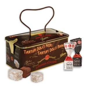 TARTUFI-assortiti-in-SCRIGNO-di-latta-da-150g
