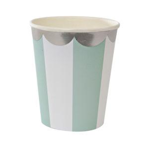 bicchiere verde acqua 124255 meri meri
