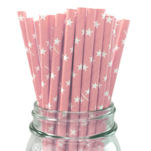 childrens-birthday-party-supplies-table-decoration-light-pink-star-straws