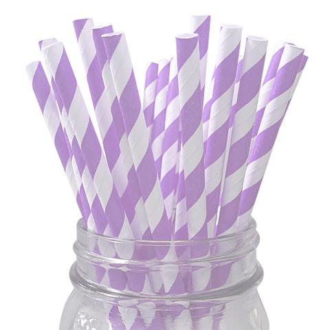childrens-birthday-party-supplies-table-decoration-white-lavender-stripe-straws-1