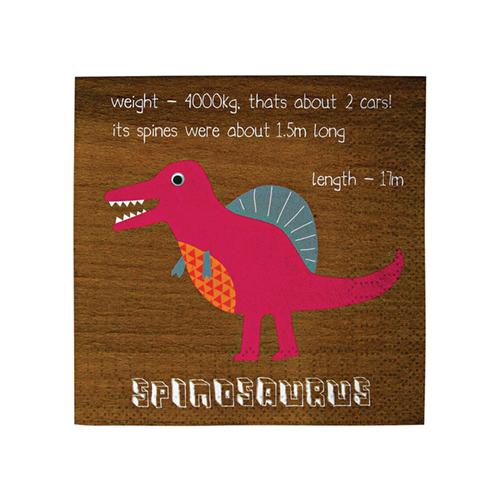 tovagliolo dinosaur 124003